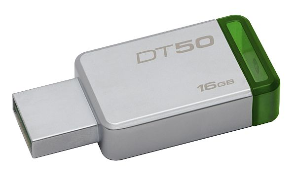Muistitikku 16gb Kingston DT50 vihreä -