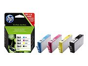HP no364 CMYK Ink Cartridge Combo 4-Pack