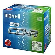 Image for Maxell CD-R 80 XL-S / 10mm case 10-pack from Suomalainen.com