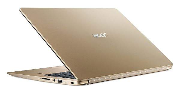 Image for Acer Swift 1 SF114-32-P40C Kulta 2018 from Suomalainen.com