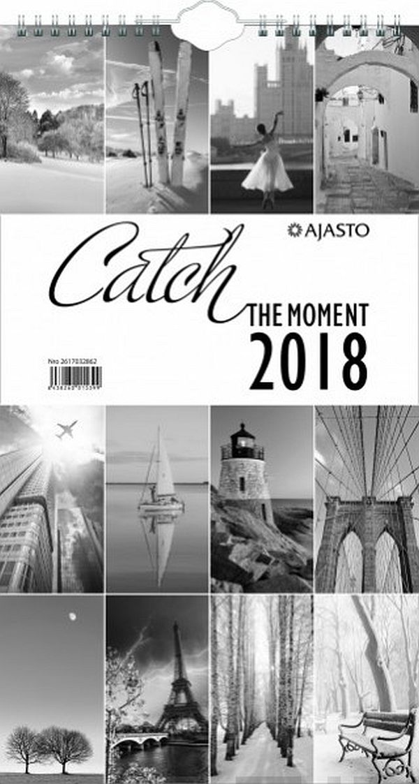 Image for Catch the moment 2018 (seinäkalenteri) from Suomalainen.com
