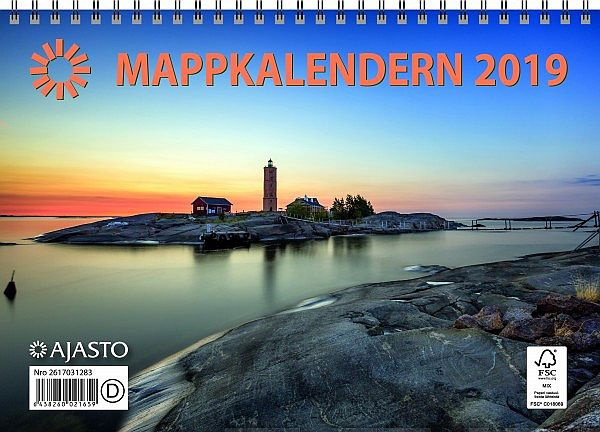 Image for Mappkalendern 2019 from Suomalainen.com