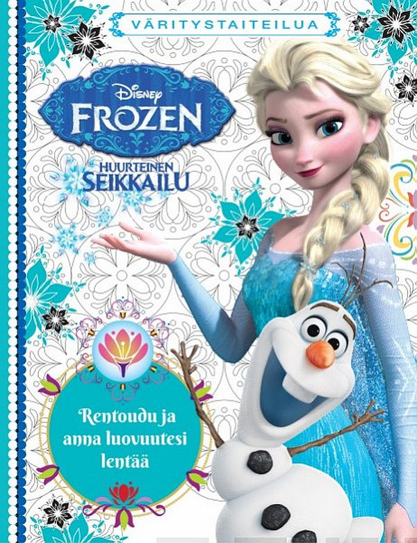 Image for WD Frozen Doodle kirja from Suomalainen.com