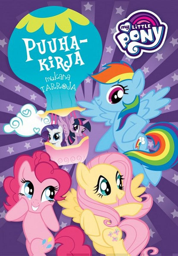 Image for My Little Pony puuhakirja from Suomalainen.com