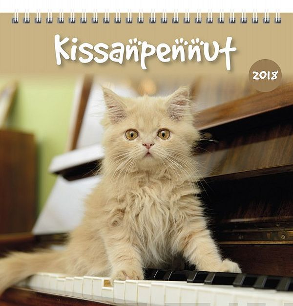 Image for Kissanpennut 2018 (seinäkalenteri) from Suomalainen.com