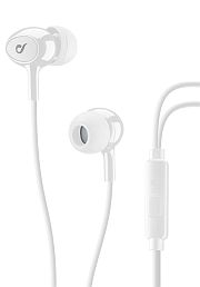 Image for Cellularline nappikuuloke Acoustic White In-Ear Earphones With Microphone from Suomalainen.com