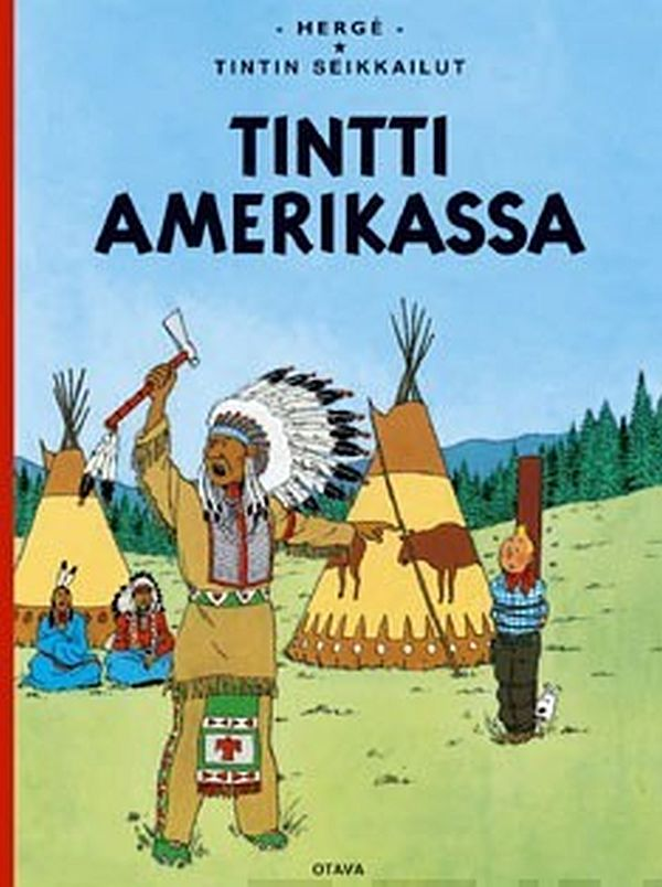 Image for Tintti Amerikassa from Suomalainen.com