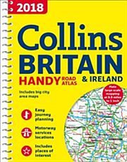 Image for 2018 Collins Britain & Ireland Handy Road Atlas from Suomalainen.com
