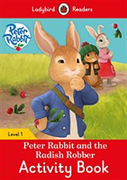 Image for Peter Rabbit and the Radish Robber Activity Book from Suomalainen.com