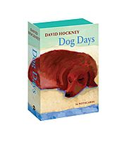 Image for David Hockney Dog Days from Suomalainen.com