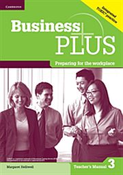 Image for Business Plus Level 3 Teacher's Manual from Suomalainen.com