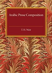 Image for Arabic Prose Composition from Suomalainen.com