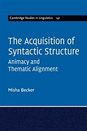 Image for Acquisition of Syntactic Structure,The from Suomalainen.com