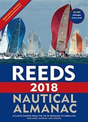 Image for Reeds Nautical Almanac 2018 from Suomalainen.com