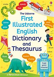 Image for First Illustrated Dictionary and Thesaurus from Suomalainen.com