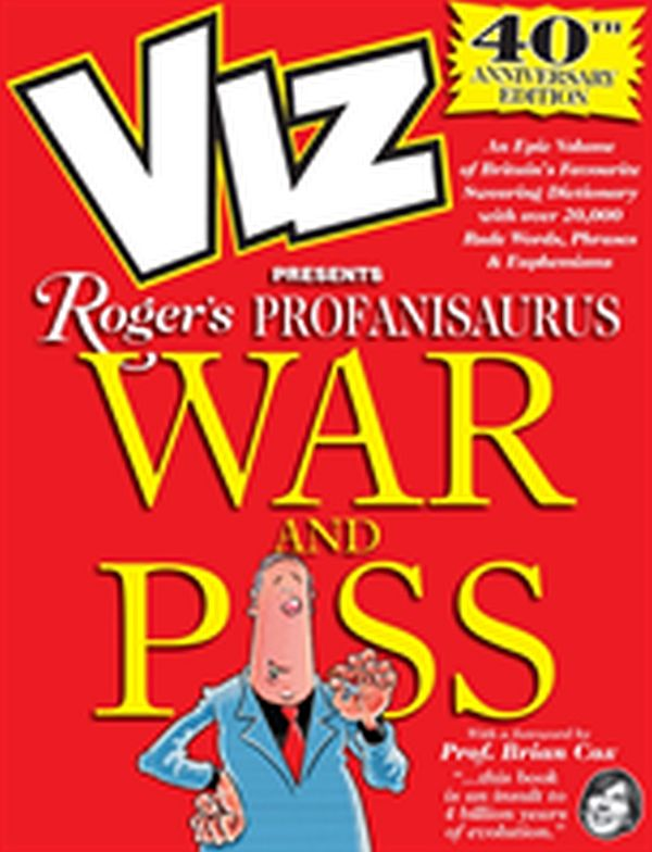 Image for Viz 40th Anniversary Profanisaurus: War and from Suomalainen.com