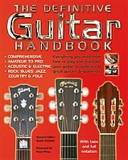 Image for Definitive Guitar Handbook, The: from Suomalainen.com