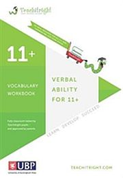 Image for Verbal Ability for 11 +: Vocabulary Tests from Suomalainen.com