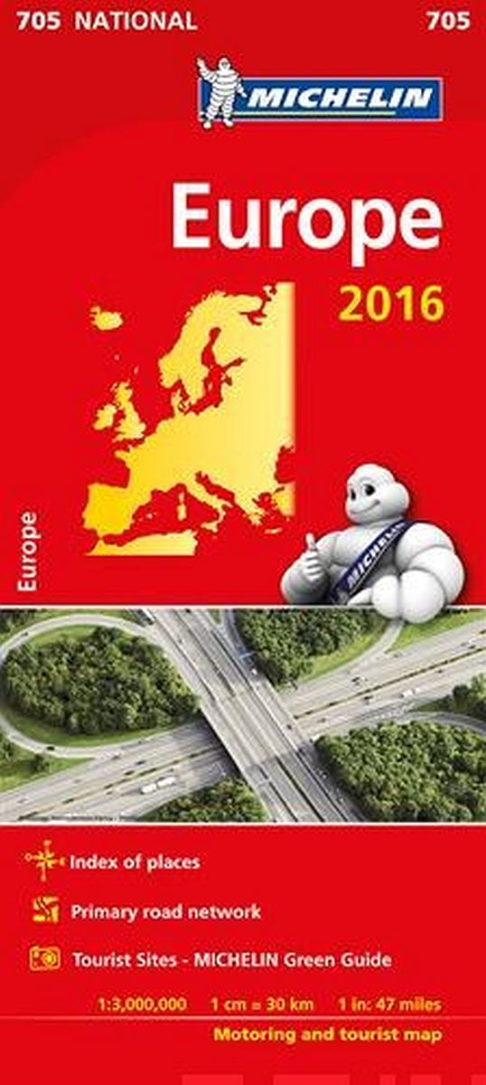 Image for Europe 2016 National Map 705 from Suomalainen.com