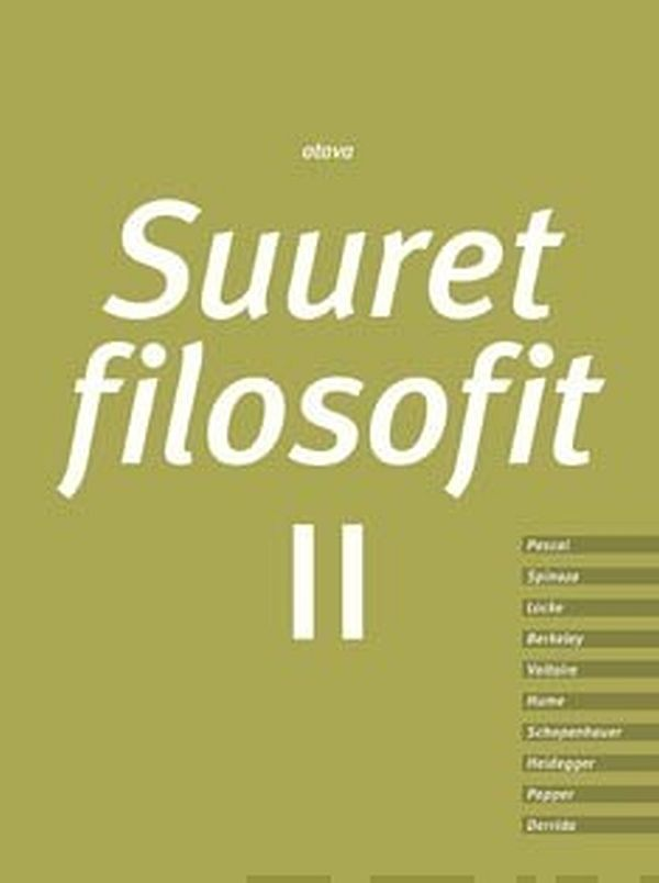 Image for Suuret filosofit 2 (yhteisnide) from Suomalainen.com