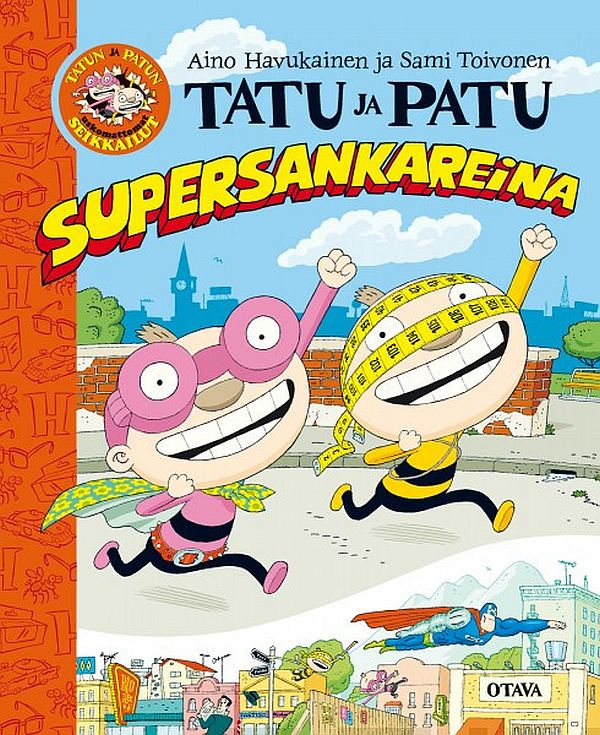 Image for Tatu ja Patu supersankareina from Suomalainen.com