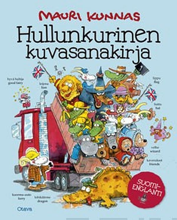Image for Hullunkurinen kuvasanakirja from Suomalainen.com