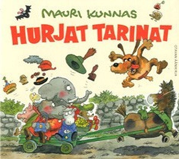 Image for Hurjat tarinat (cd) from Suomalainen.com