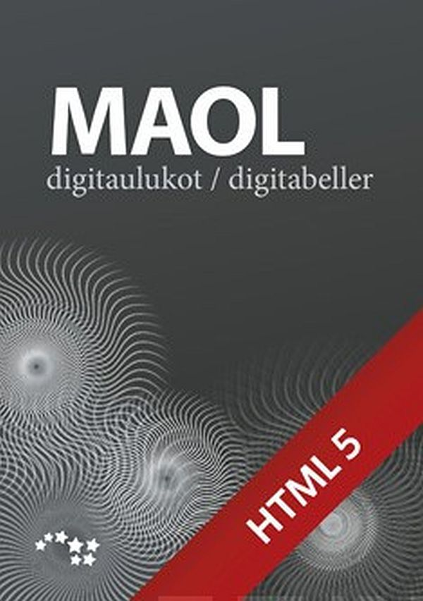 Image for MAOL-digitaulukot - MAOLs digitabeller 48 kk/mån ONL from Suomalainen.com