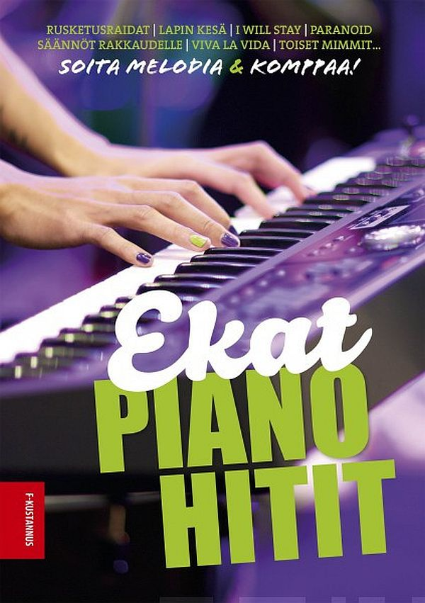 Image for Ekat pianohitit from Suomalainen.com