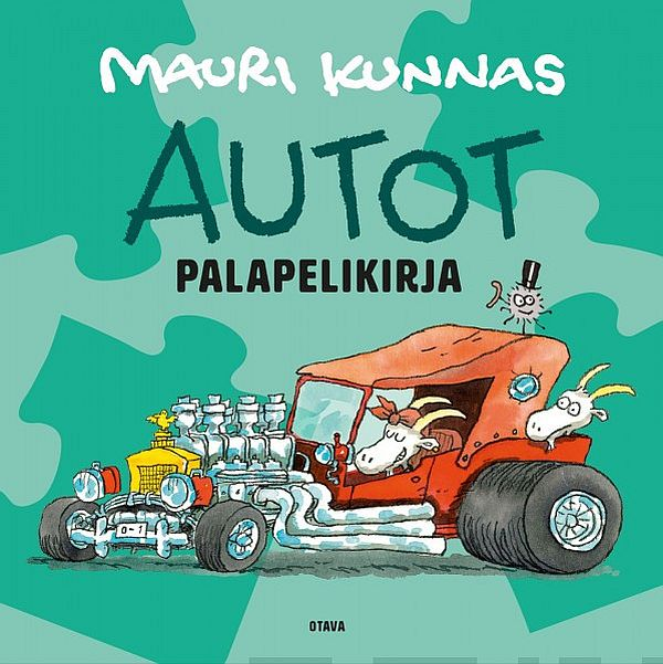 Image for Autot-palapelikirja from Suomalainen.com