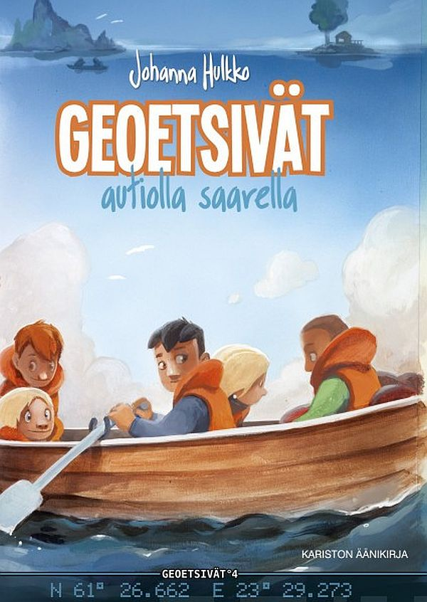 Image for Geoetsivät autiolla saarella (mp3-cd) from Suomalainen.com
