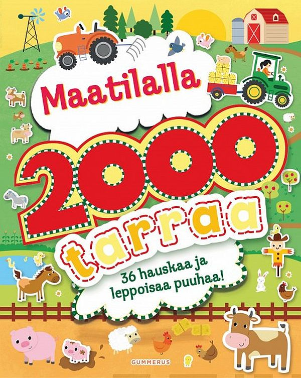 Image for Maatilalla 2000 tarraa from Suomalainen.com