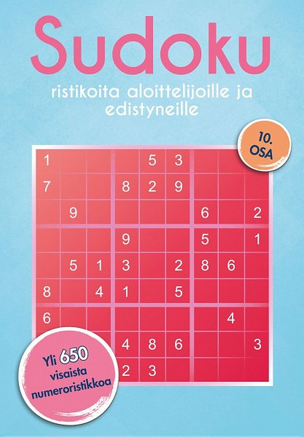 Image for Sudoku 10 from Suomalainen.com