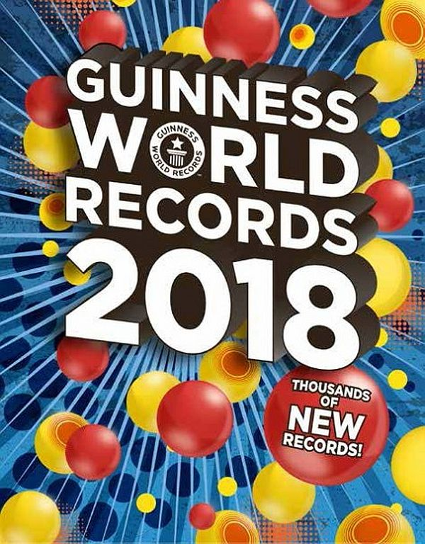 Image for Guinness World Records 2018 from Suomalainen.com