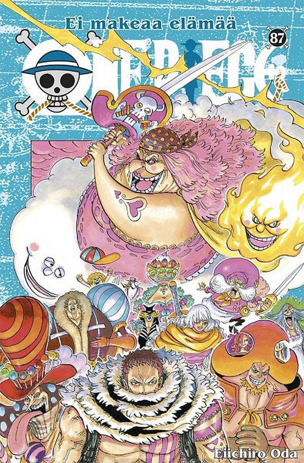 Image for One Piece 87 from Suomalainen.com