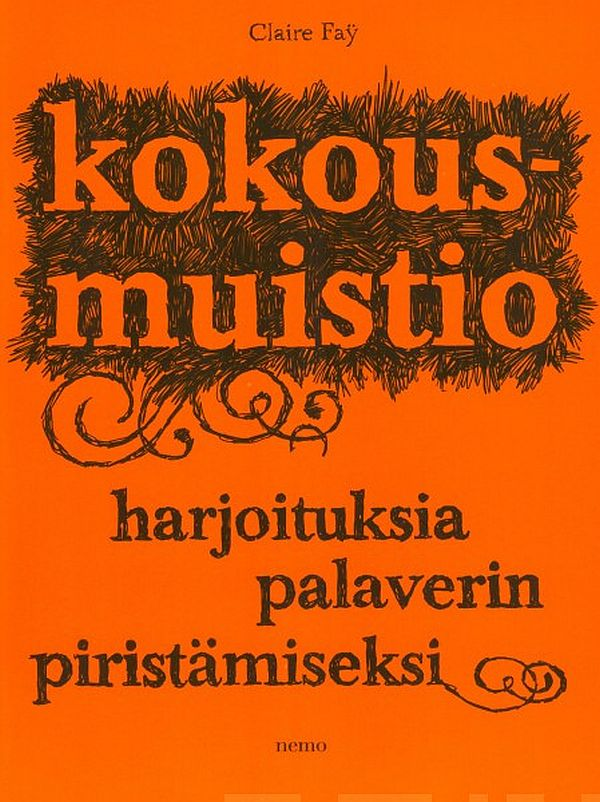 Image for Kokousmuistio from Suomalainen.com