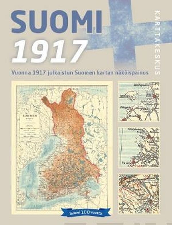 Image for Suomi 1917 1:1 500 000 from Suomalainen.com