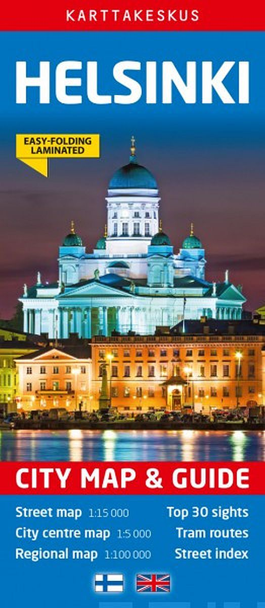 Image for Helsinki City Map & Guide, 1:15 000/1:100 000/1:5000 from Suomalainen.com