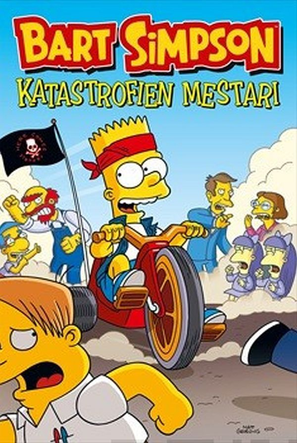 Image for Bart Simpson - Katastrofien mestari from Suomalainen.com