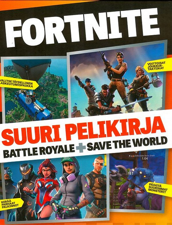 Image for Fortnite - Suuri pelikirja from Suomalainen.com