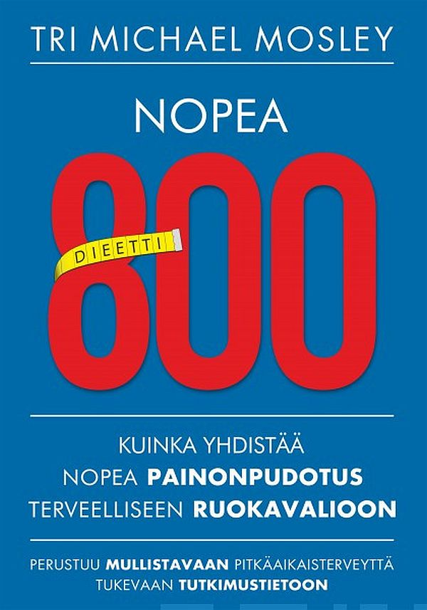 Image for Nopea 800 dieetti from Suomalainen.com