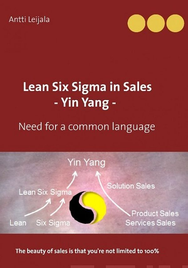 Image for Lean Six Sigma in Sales - Yin Yang from Suomalainen.com