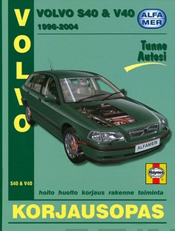Image for Volvo S40 & V40 1996-2004 from Suomalainen.com