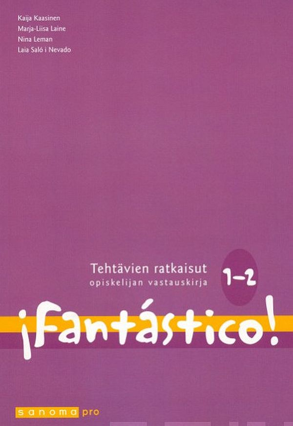 Image for Fantástico! 1-2 from Suomalainen.com