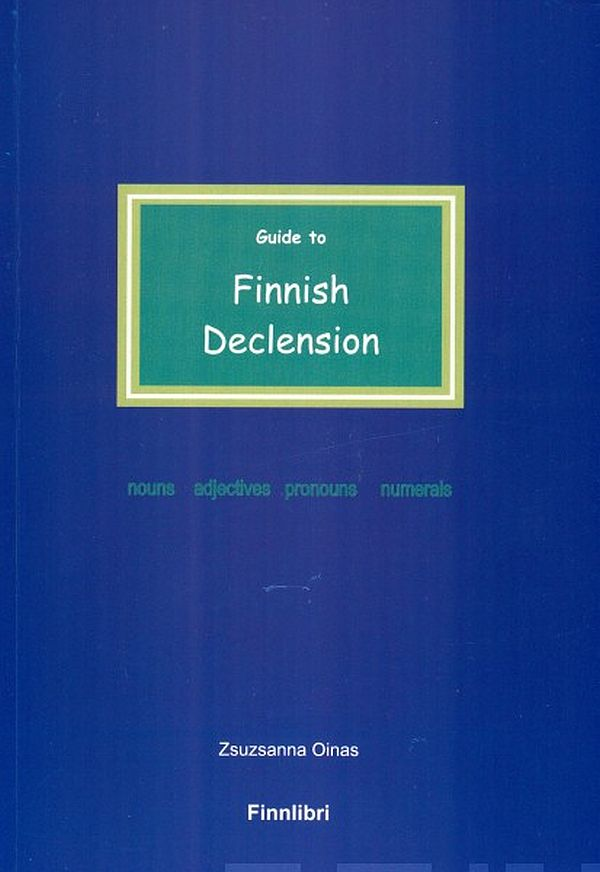 Image for Guide to Finnish Declension from Suomalainen.com