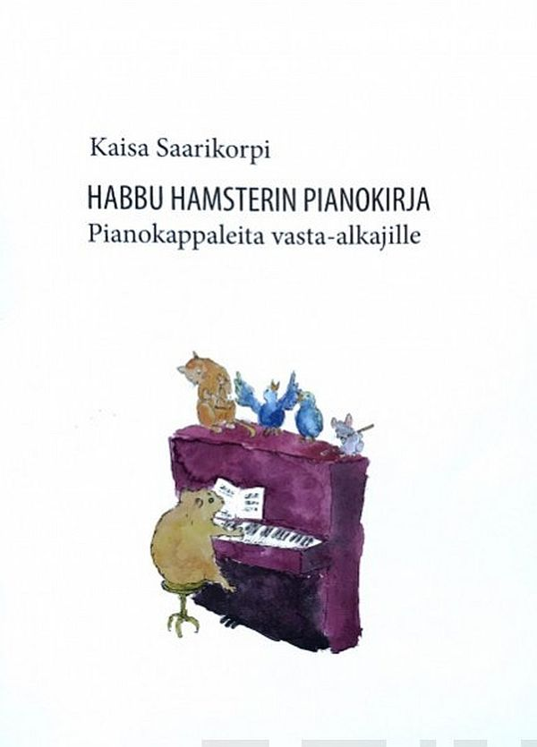 Image for Habbu Hamsterin pianokirja from Suomalainen.com