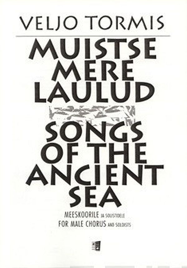 Image for Muistse mere laulud / Songs of the Ancient Sea from Suomalainen.com