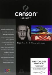 Image for Taidetulostuspaperi A4/25 270g Canson PhotoGloss Premium RC from Suomalainen.com